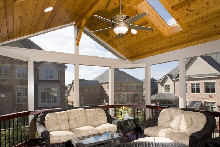 Velux Skylights Maryland Custom Outdoor Builder Decks