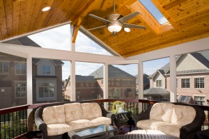 Custom screen porch sunroom builder Rockville