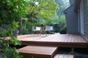 Mahogany deck Bethesday Maryland