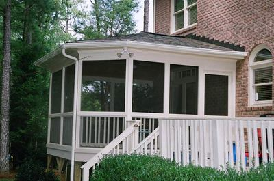 Screened Porch Builder Maryland Maryland Custom Outdoor