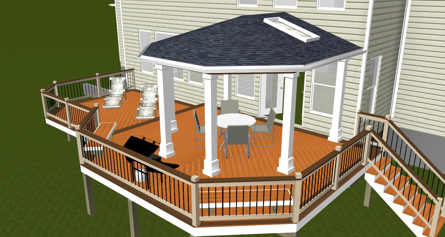 Interior design for home ideas backyard deck design ideas for Ideas for deck designs
