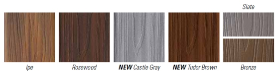 Fiberon Horizon color options