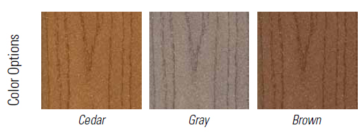 Fiberon Professional color options
