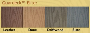 Guardeck Elite PVC decking Maryland