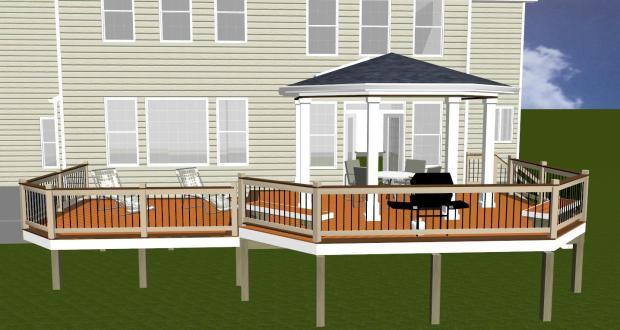 Build Elevated Deck Plans Diy Pdf Varnish On Wood Glib80jpz
