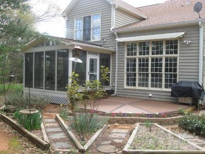 Versatile screened porch and deck combination in Central MD.
