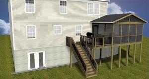 Gaithersburg screen porch builder