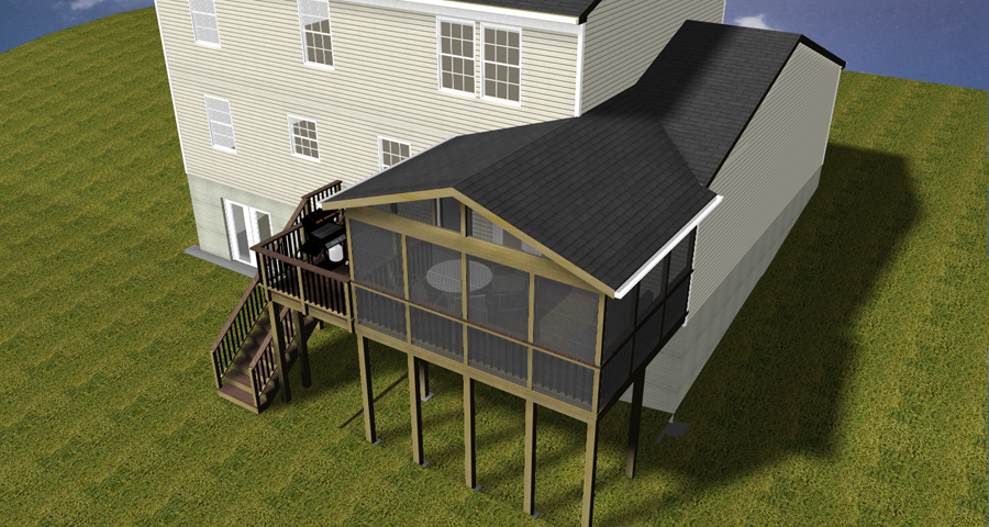 screened in porches for cats screen porch maryland custom outdoor builder decks porches