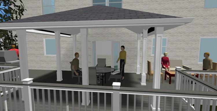 Open Porches Maryland Custom Outdoor Builder Decks