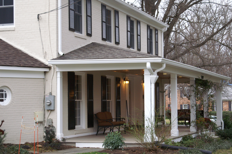 Front Porches And Porticos Maryland Custom Outdoor