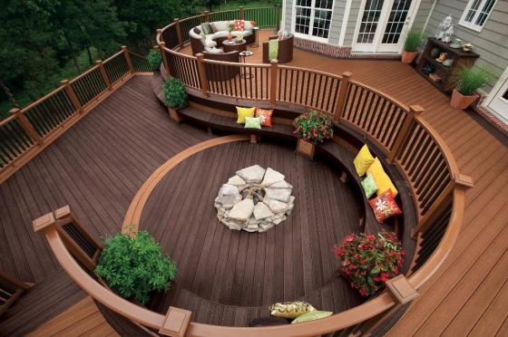 Archadeck_curve_deck_with_fire_pit_outdoor_living_Maryland_Silver_Spring_Chevy_Chase_Montgomery