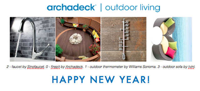 Happy New Year from Archadeck!