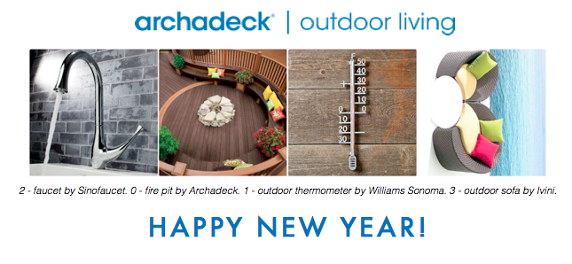 Happy New Year fromArchadeck!