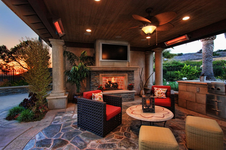 Heating options for your central md screened porch for Porch rooms