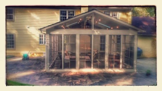 Eze Breeze porch enclosure in Potomac MD by Archadeck of Central Maryland and Montgomery County