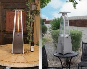 Gas tabletop heaters