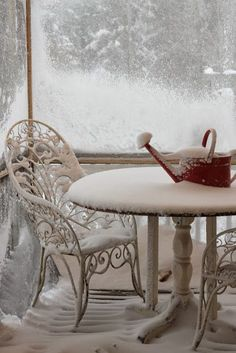 Is this what your screened porch feels like during the winter