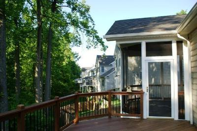 Screened Porch with Massaranduba Deck