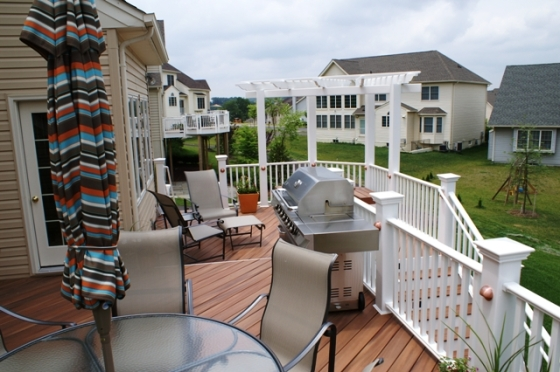 Montgomery County MD upscale deck builder
