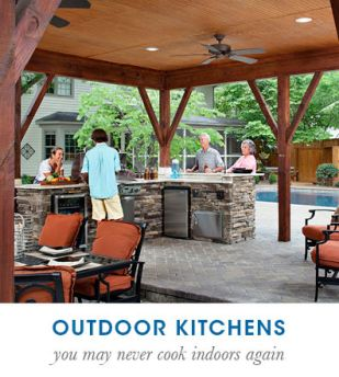 Archadeck outdoor kitchens