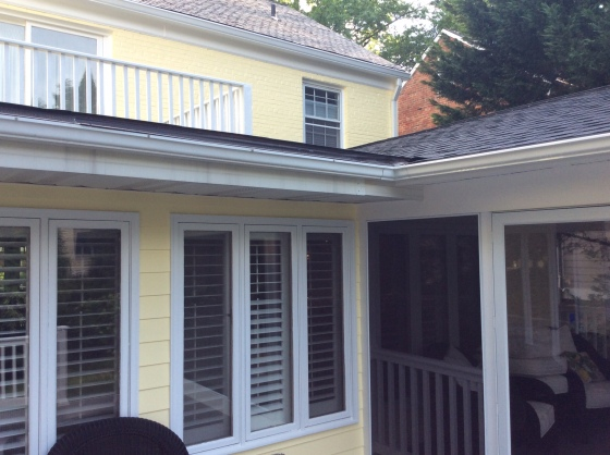 Bethesda, MD, screened porch builder